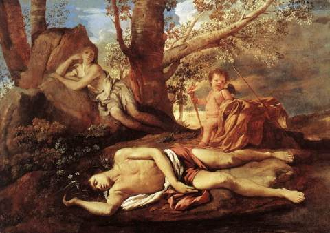 Nicolas_Poussin_-_Echo_and_Narcissus_-_WGA18271