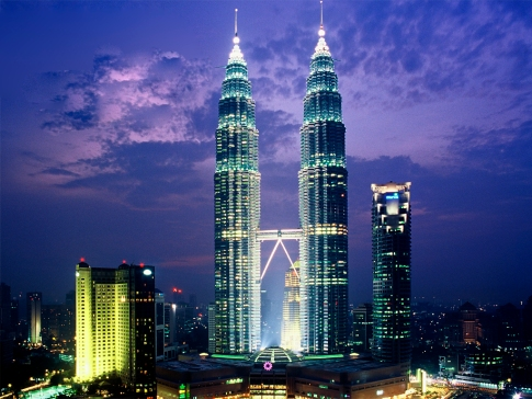 Tháp đôi Petronas (kualalumpur(