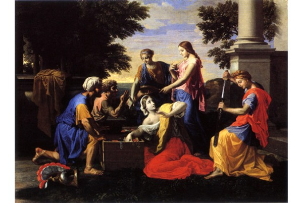 Achilles-among-the-Daughters-Lycomedes-by-Nicolas-Poussin