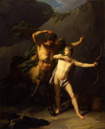 jean-baptiste-regnault-the-education-of-achilles-by-chiron