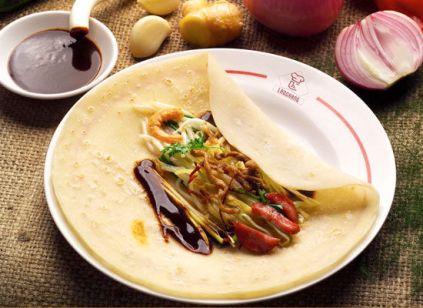 Bánh xuân: loại bánh thường ăn trong tiết Lập Xuân ở miền Bắc Trung Quốc, vỏ như bánh kếp chiên, bên trong có giăm bông, thịt gà, thịt heo, táo tàu, hồ đào và đường. Bánh xuân xuất hiện vào thời nhà Tấn và thịnh hành ở thời nhà Đường.