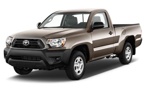 Xe Toyota Pickup là dạng xe có cái thùng to đựng đồ ở phía sau thế này.