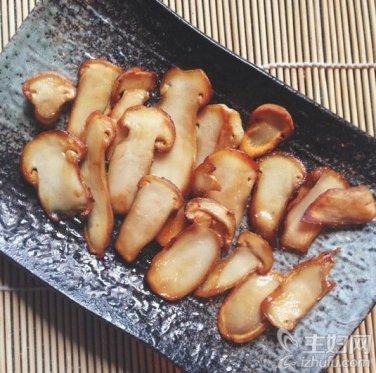 Nấm matsutake chiên dầu